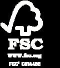 LOGO FSC branco